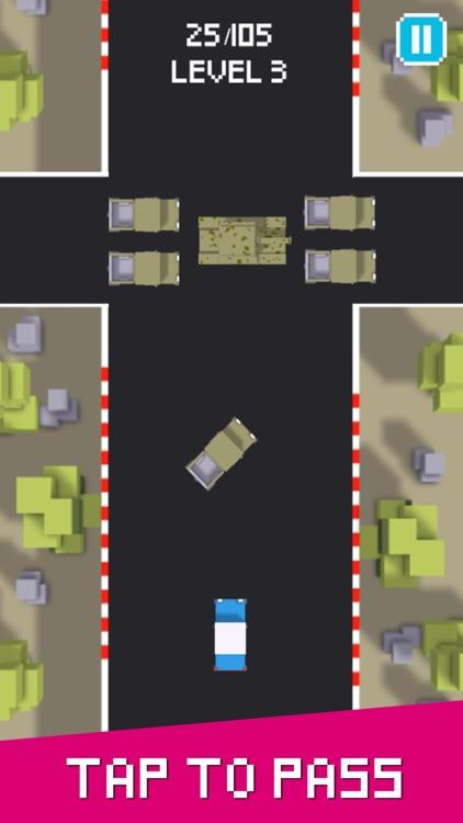 Hard Road - Don't Crash The Car On Pixel Highway 2