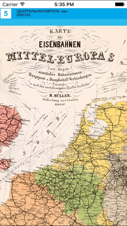 Central Europe (1884). Historical map. screenshot-4