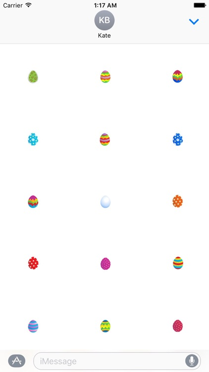 Many Eggs Much Lucky in Easter Sticker screenshot-4