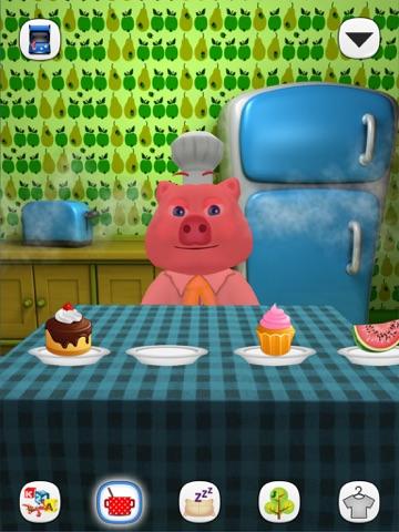 Говорящая Свинка Хрюкси на iPad