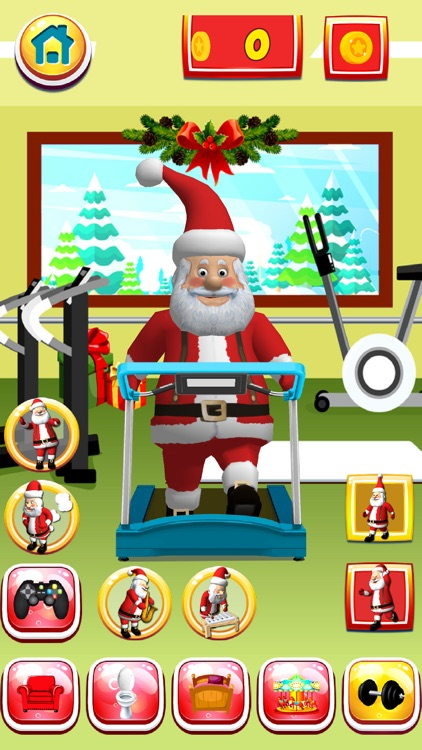 Talking Santa Christmas Game screenshot-4
