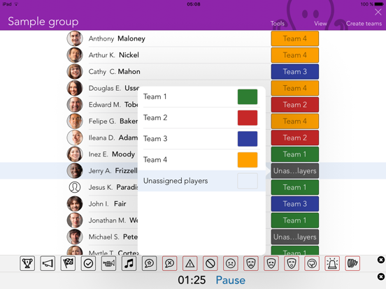 Teams Random team maker | App Price Drops