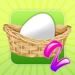 Egg Toss 2 - Easter egg