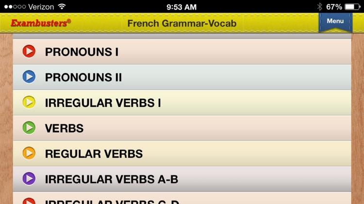 SAT Spanish & French Flashcards Exambusters