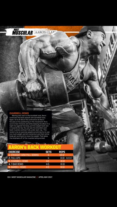 Most Muscular Magazine screenshot 2