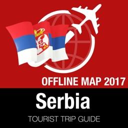 Serbia Tourist Guide + Offline Map