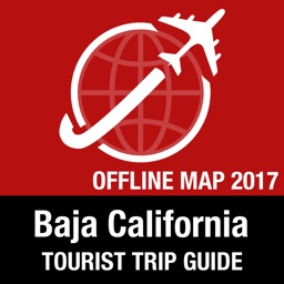 Baja California Tourist Guide + Offline Map