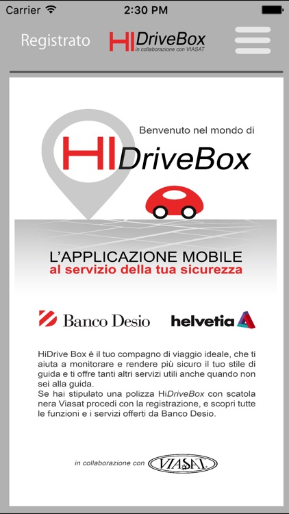 HiDriveBox - Banco Desio