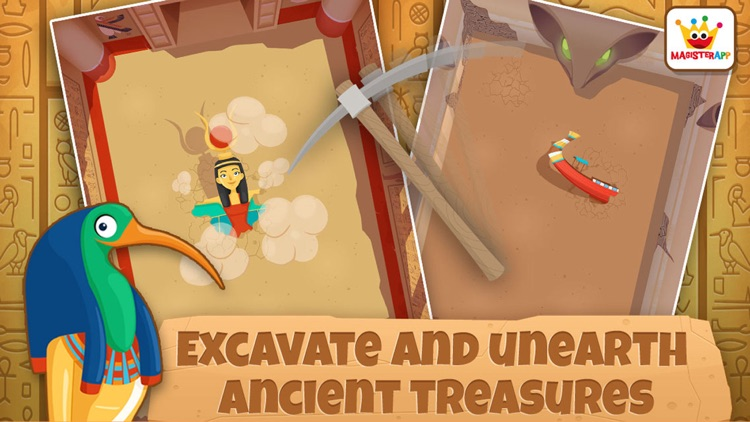Archaeologist Egypt: Kids Games & Learning Free