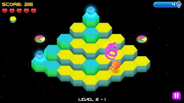 Q*bert Rebooted screenshot-1