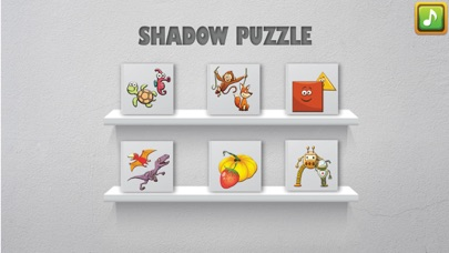 Shadow Puzzle Game For Kids screenshot one