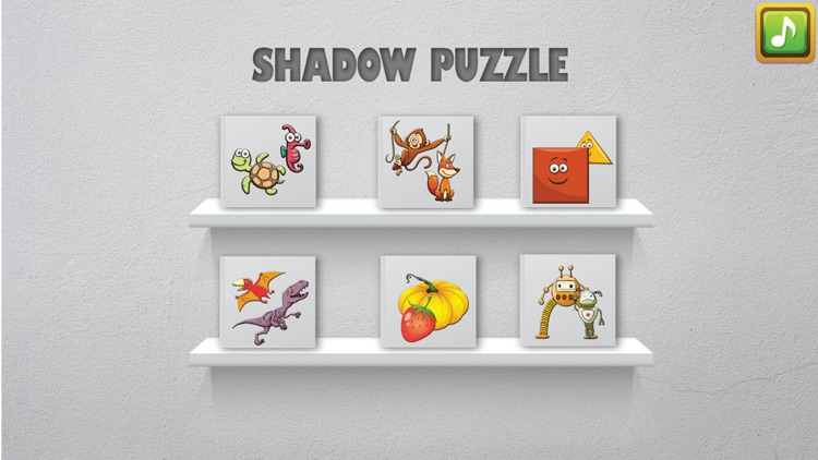 Shadow Puzzle Game For Kids
