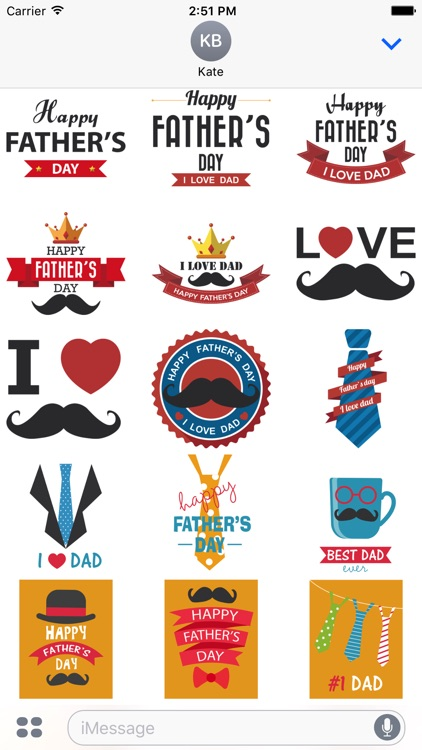 Father's Day Stickers