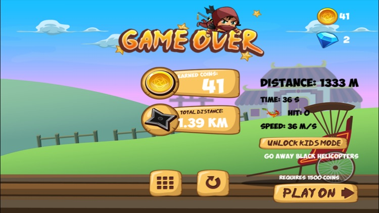 Super Flying Ninja screenshot-3
