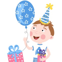 Happy birthday invitations for kids party on the app store happy birthday invitations for kids party 4 stopboris Gallery