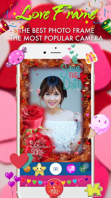 Valentine Photo Frame - Wonder Photo & Frame Maker screenshot-3