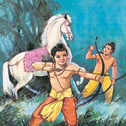 The Sons Of Rama -  Amar Chitra Katha Comics