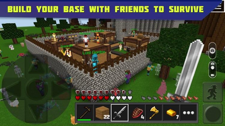 Planet of Cubes Survival Games screenshot-3