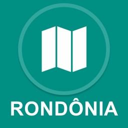 Rondonia, Brazil : Offline GPS Navigation