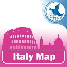 意大利离线旅游地图.