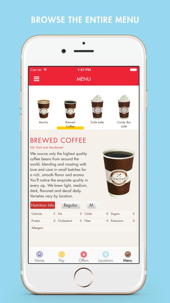 Scooter's Coffee Screenshot