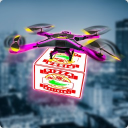 Drone Pizza Delivery Simulator