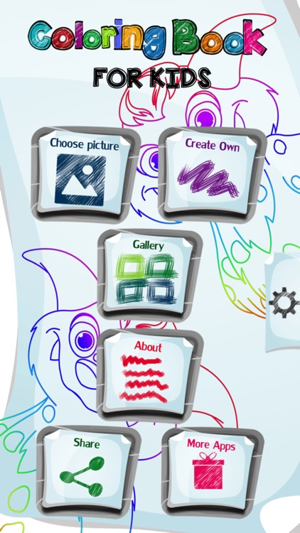 Coloring Book For Kids App