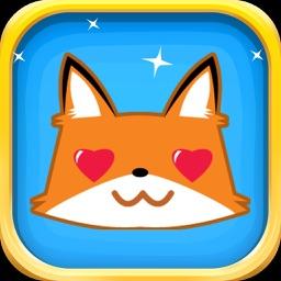 Fox Sticker Pack - Cute Fox Emojis Super Set