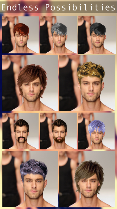 Top 10 Apps Like Mens Hairstyles Free Virtual Hair Makeover Try On Your New Male Hair With Hair Cut Editor In 2021 For Iphone Ipad