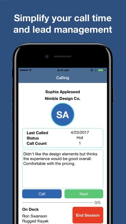 SwiftCall: Sales Auto-Dialer screenshot-0