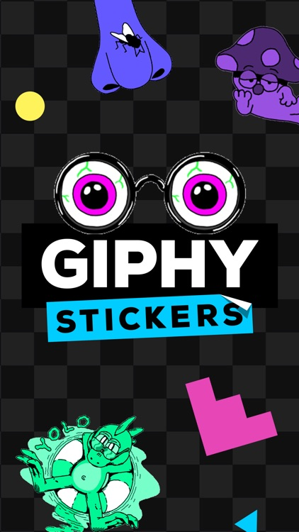 GIPHY Stickers. The Animated Sticker & Emoji App