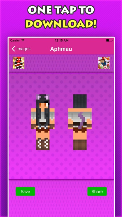 NEW APHMAU SKINS FREE For Minecraft Pocket Edition screenshot-4