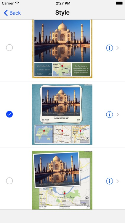 Photo Mapo - Add a map to your photo screenshot-3