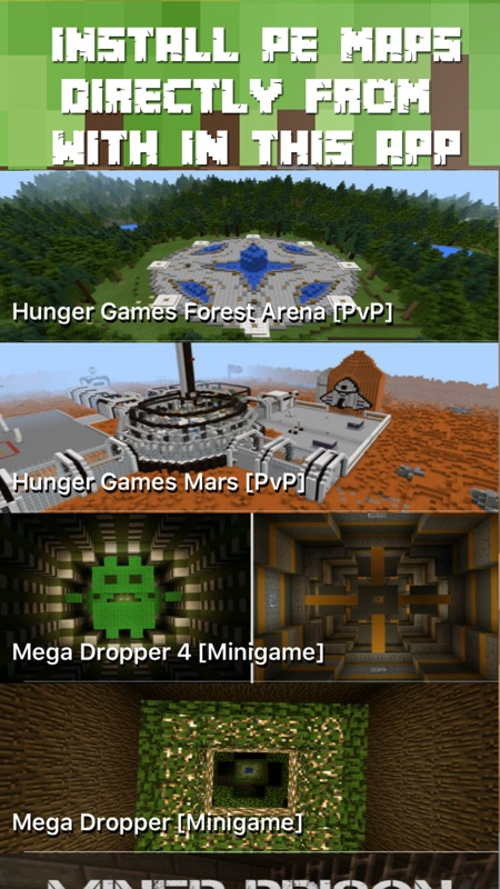 Maps For Minecraft Pe Free One Touch Install Online Game Hack