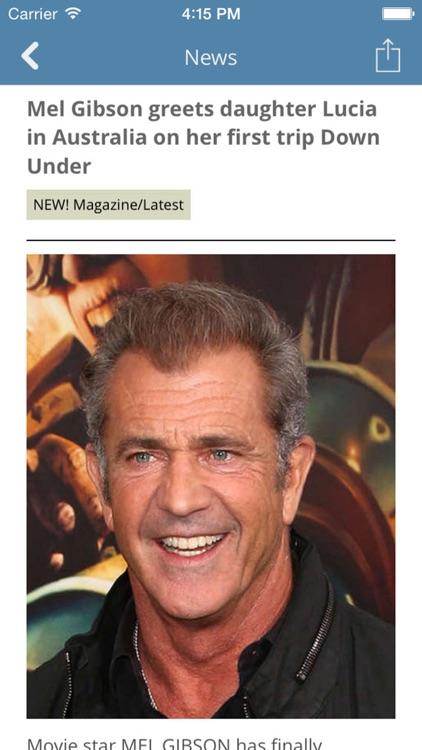 Celebrity News.