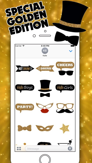 Party People for iMessageのスクリーンショット2