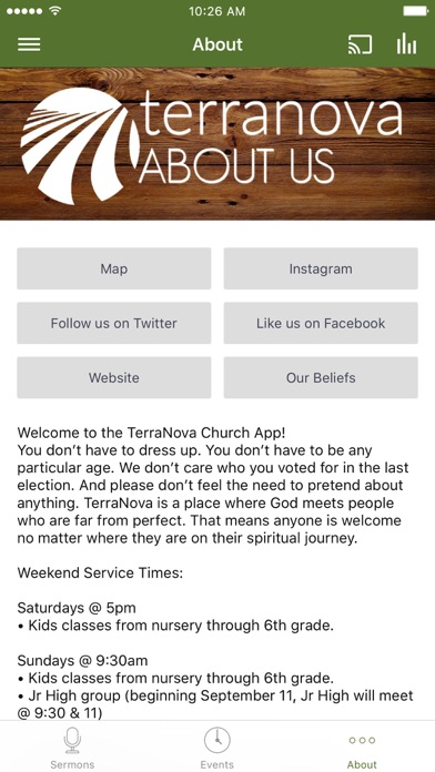 TerraNova Church screenshot 3