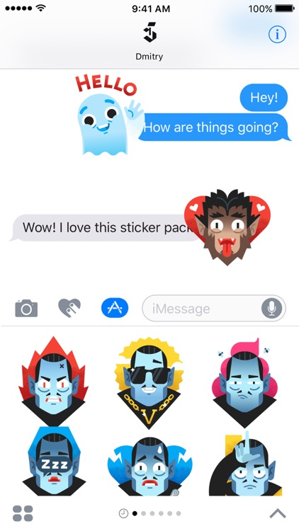 Monster Squad – Animated Stickers screenshot-3