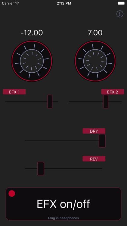 Harmonizer audio effect screenshot-3
