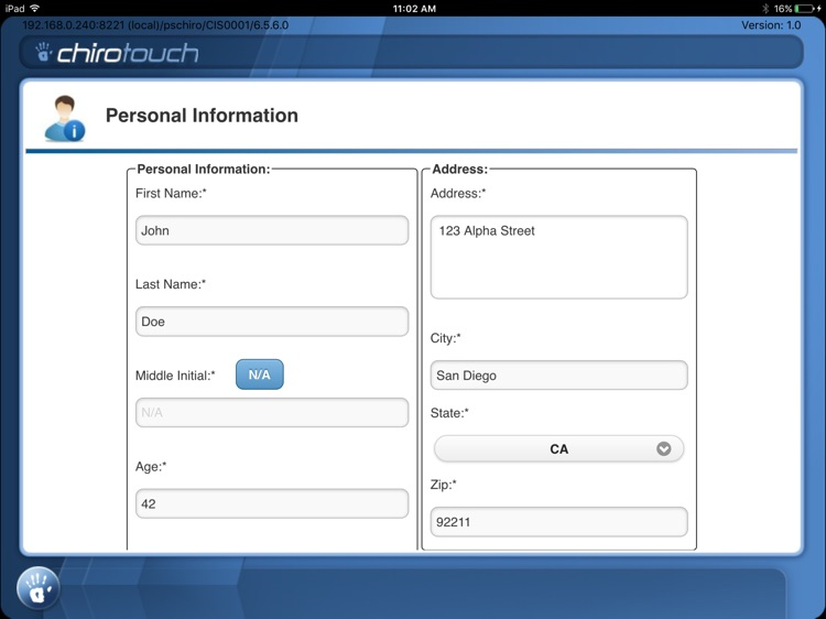 CT Intake Mobile 6.6 screenshot-3