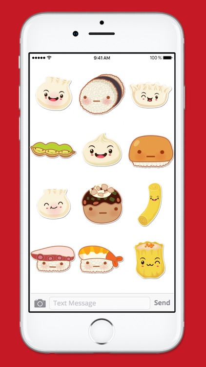 Cute Sushi Kawaii Sticker Pack screenshot-4