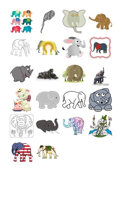 Elephant Sticker Pack