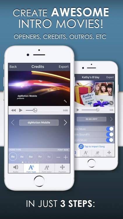 Youtube Mobile Website Gets A Boost: Intro Designer For IMovie And Youtube By DgMotion Mobile