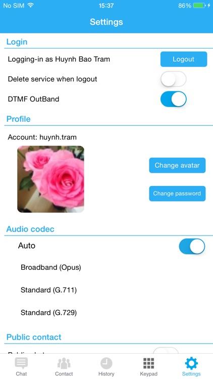 LivyTalk Smart Office ExCall screenshot-4