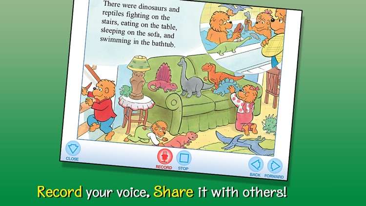 The Berenstain Bears' Dinosaur Dig screenshot-3
