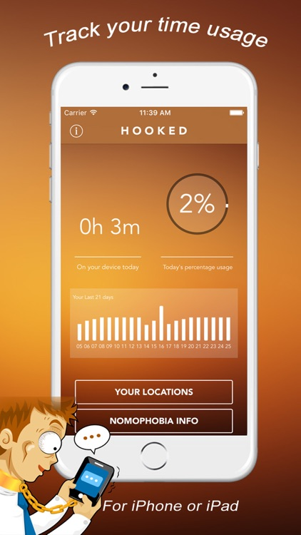 Hooked Pro - Track Phone Habit and Know Your Usage