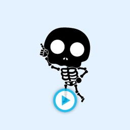 Animated Dancing Skeletons - GIF Stickers