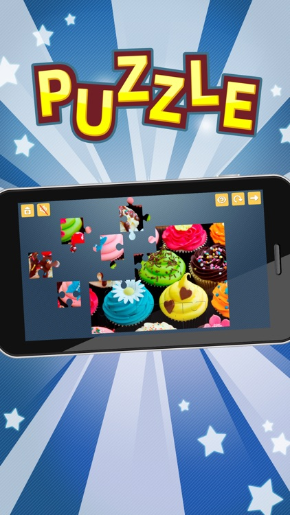Candy Jigsaw Puzzles Games. Premium