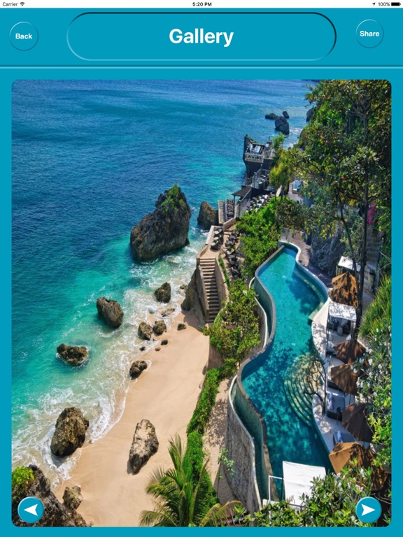 Bali Indonesia Offline Maps Navigation iPad