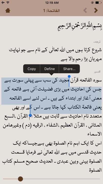 The Noble Quran screenshot-4